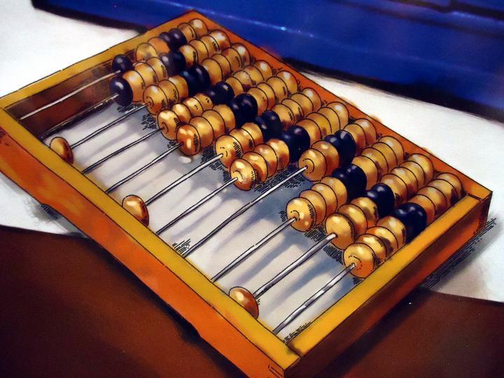 Универсальный советский калькулятор - счеты KOMSOMOL- MUSEUM.RU