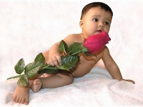 Цветок от ребенка